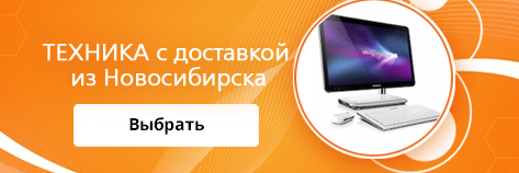 Техника с доставкой из Новосибирска